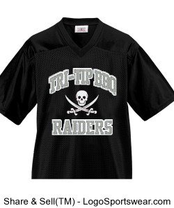 Raiders Tri-Tip Football Jersey Design Zoom